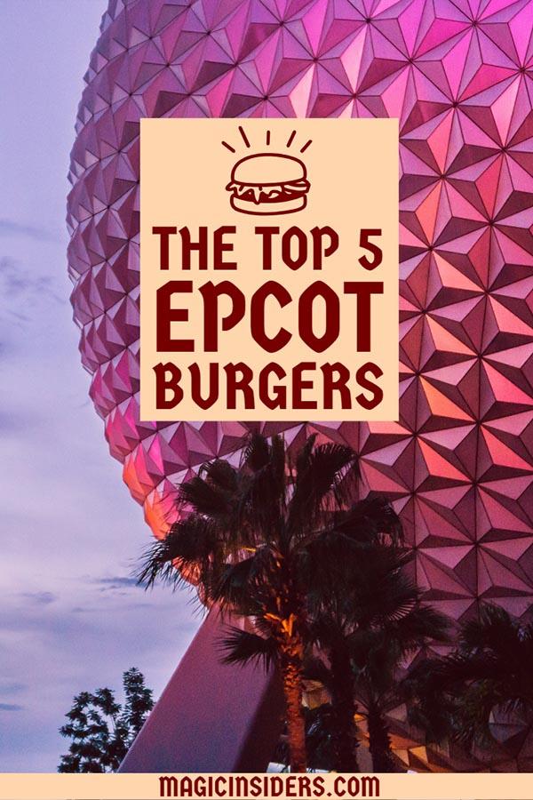 best burgers epcot