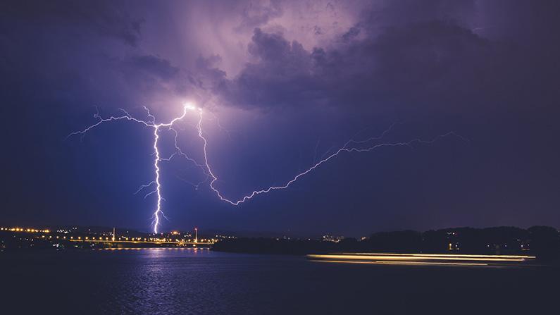 epcot fireworks rain lightning