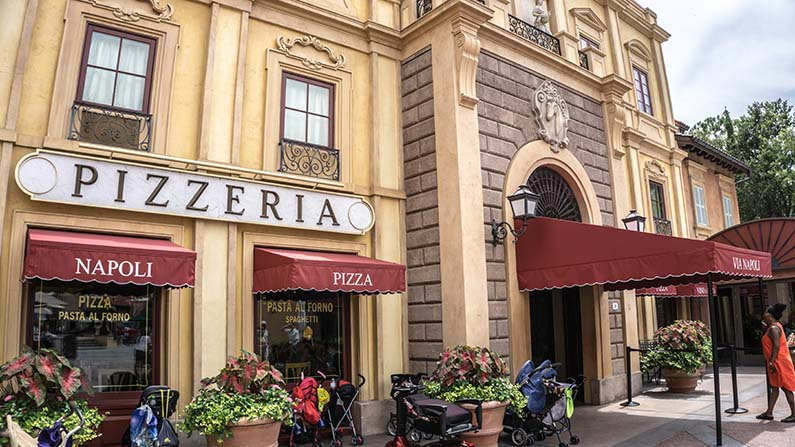 via napoli epcot pizza