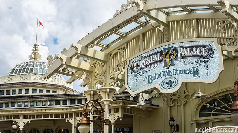 magic kingdom crystal palace