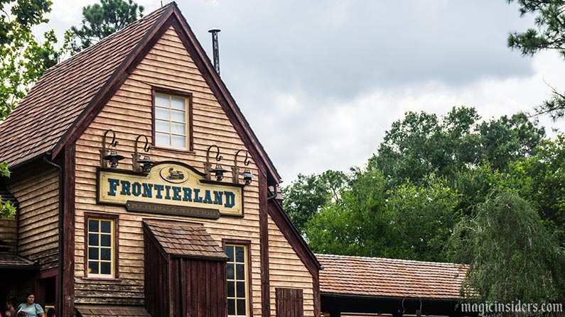 magic kingdom frontierland