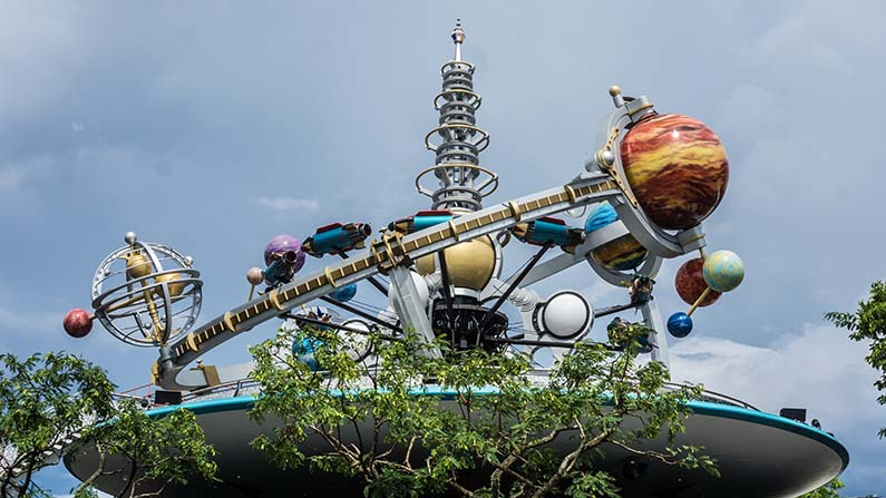 magic kingdom tomorrowland