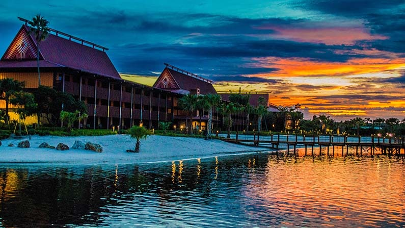 best disney world resorts adults polynesian