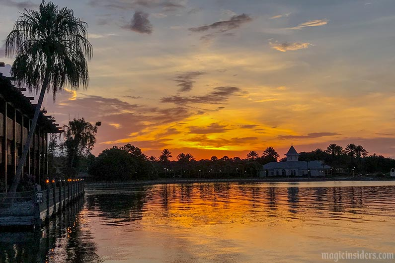 disney world polynesian resort beach sunset