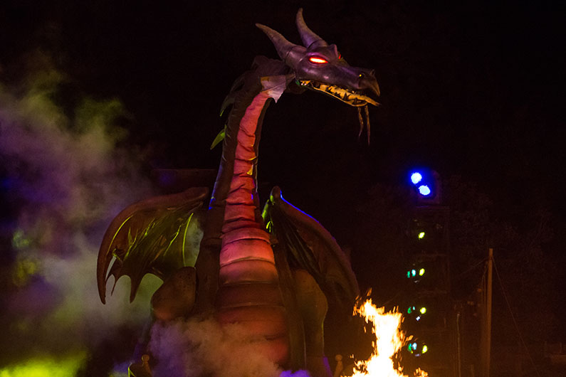 hollywood studios fantasmic