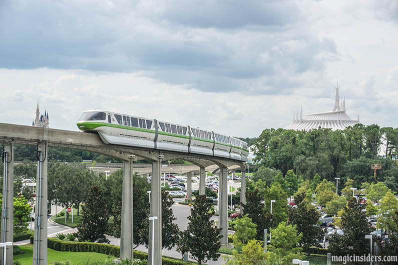 contemporary resort view magic kingdom monorail