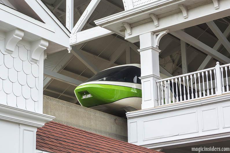disney world resorts on monrail