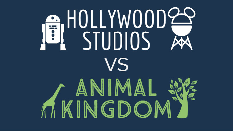 Hollywood Studios vs Animal Kingdom