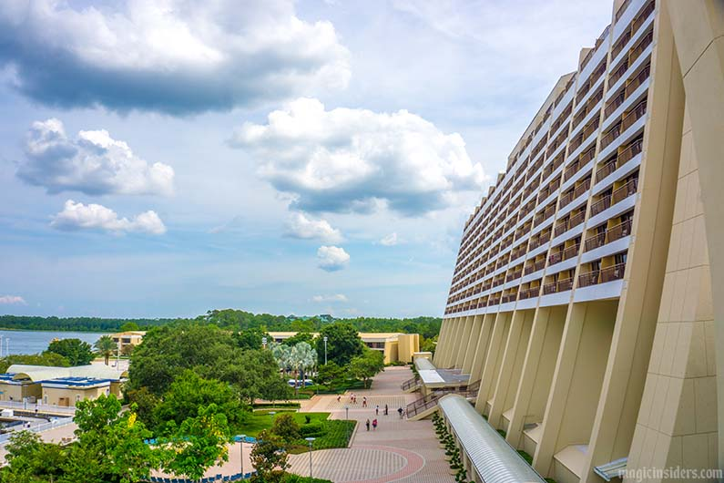 contemporary resort main building outside