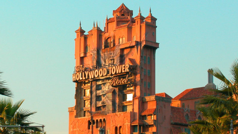 tower of terror scary disney world