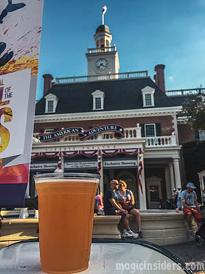 The American Adventure - Epcot Drinking Around the World