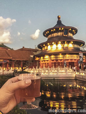 China - Epcot Drinking Around the World