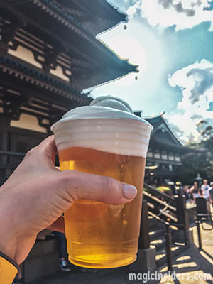 Japan - Epcot Drinking Around the World