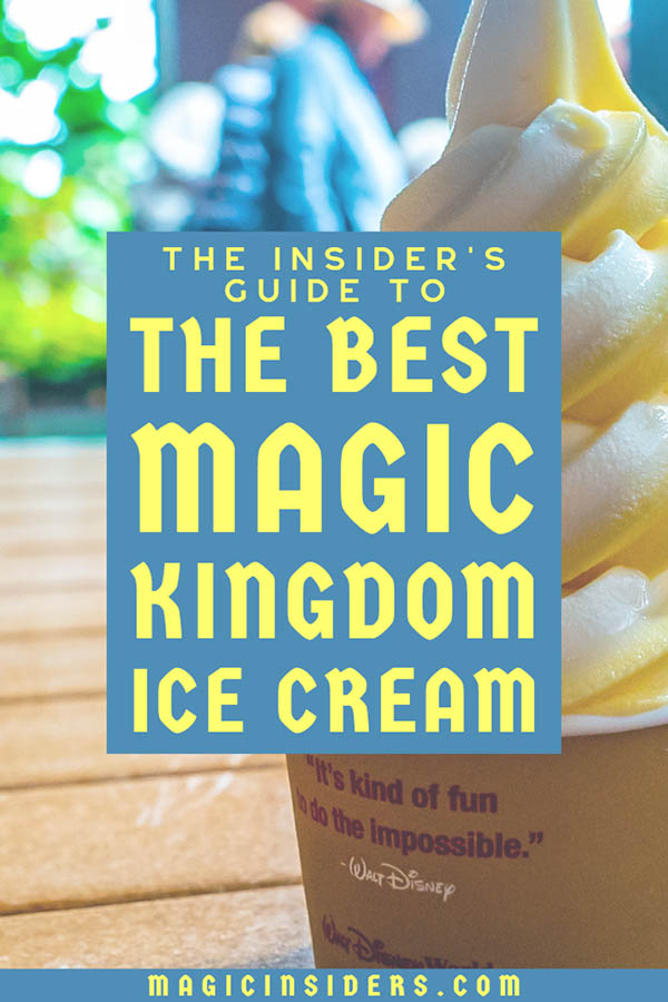 The Top 11 Magic Kingdom Ice Creams