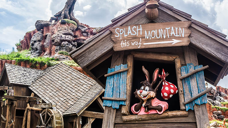How Scary is Splash Mountain?