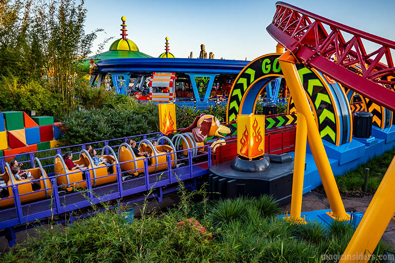 Slinky Dog Dash Disney Ride