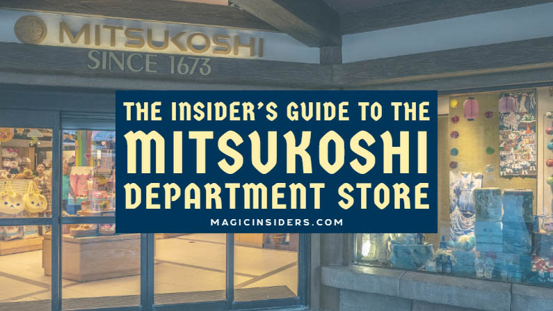 Epcot Mitsukoshi: Coolest Things to Buy at the Japan Store