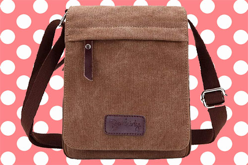 Berchirly Vintage Canvas Crossbody