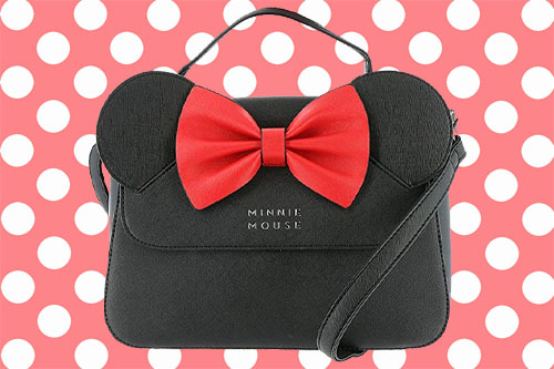Loungefly Minnie Crossbody in Faux Leather