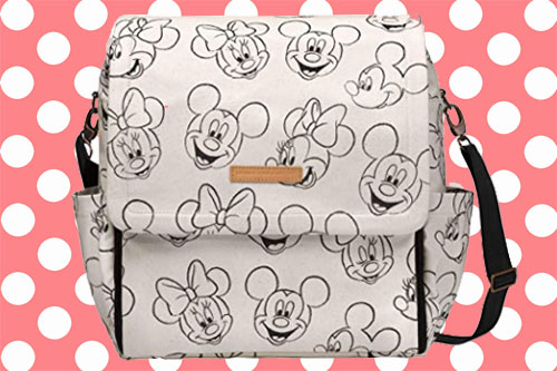 Disney Petunia Picklebottom Mickey & Minnie Sketchbook bag