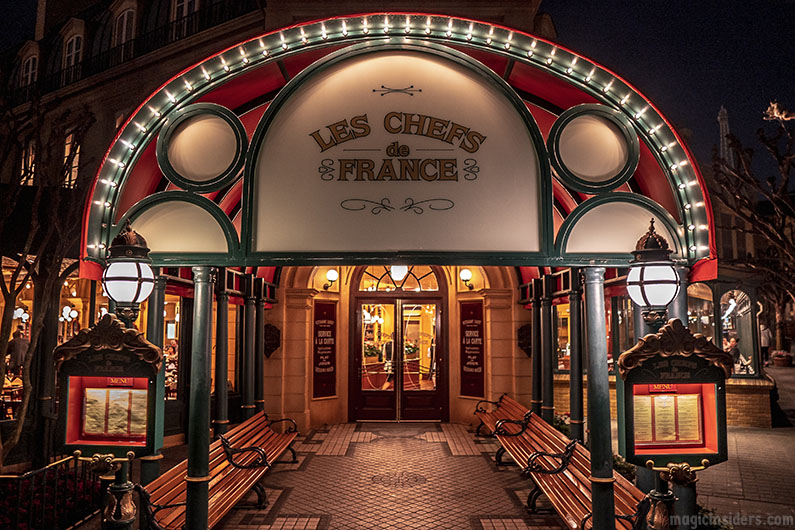 Les Chefs de France - Epcot French Restaurant