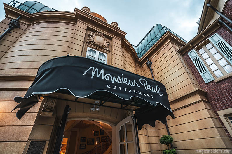 Monsieur Paul - The Best Epcot Restaurant