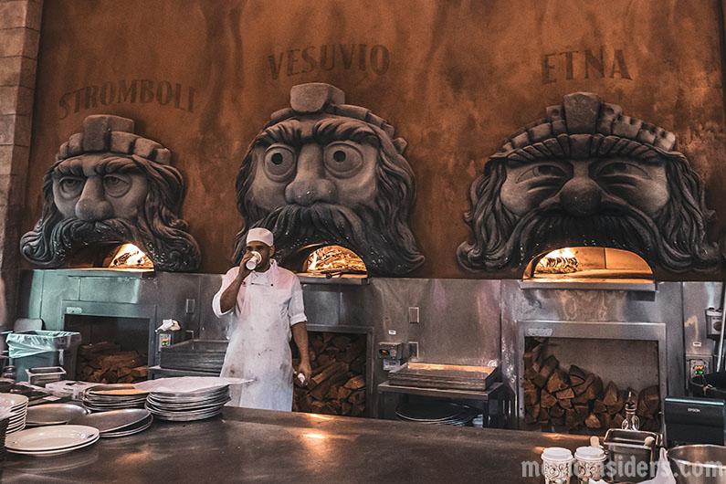 Epcot Via Napoli Italian Pizza Restaurant