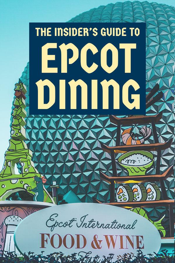 Epcot Dining Food & Wine