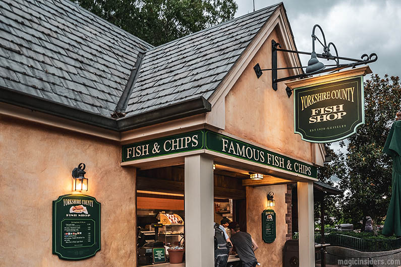 Yorkshire Fish & Chips Epcot