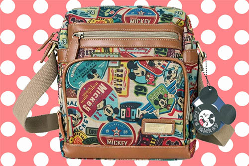 ililily X Vintage Mickey Crossbody Bag