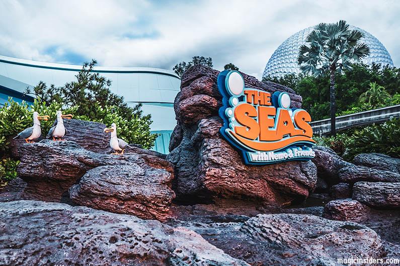 Epcot the Seas Pavilion