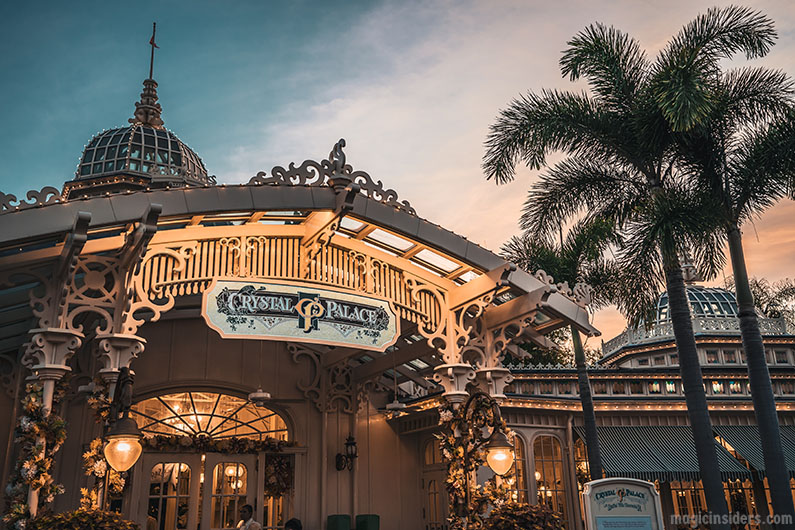 Magic Kingdom Breakfast Before Park Opens