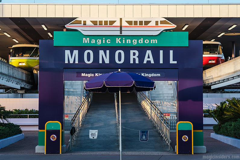 Magic Kingdom Monorail