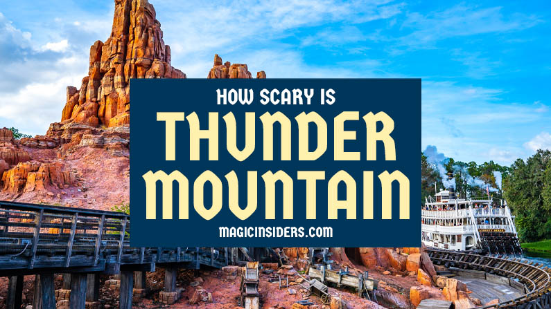 How Scary is Big Thunder Mountain Railroad?
