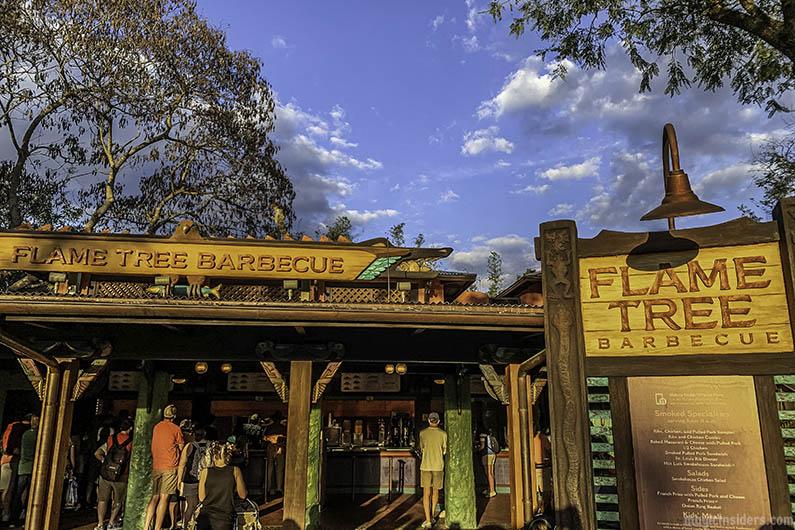 Flame Tree Barbecue Animal Kingdom