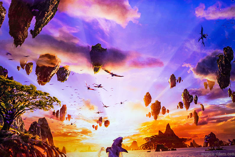 Avatar Flight of Passage at Animal Kingdom