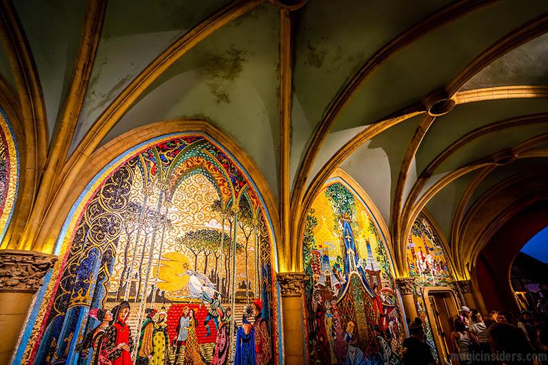 Cinderella's Castle Mosaic