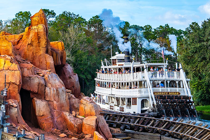 Liberty Belle Riverboat Magic Kingdom