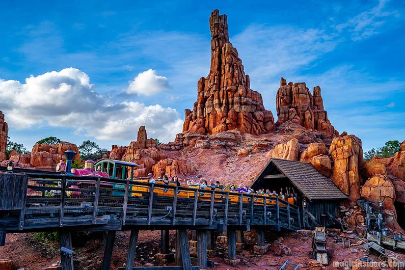 Thunder Mountain at Disney World Magic Kingdom