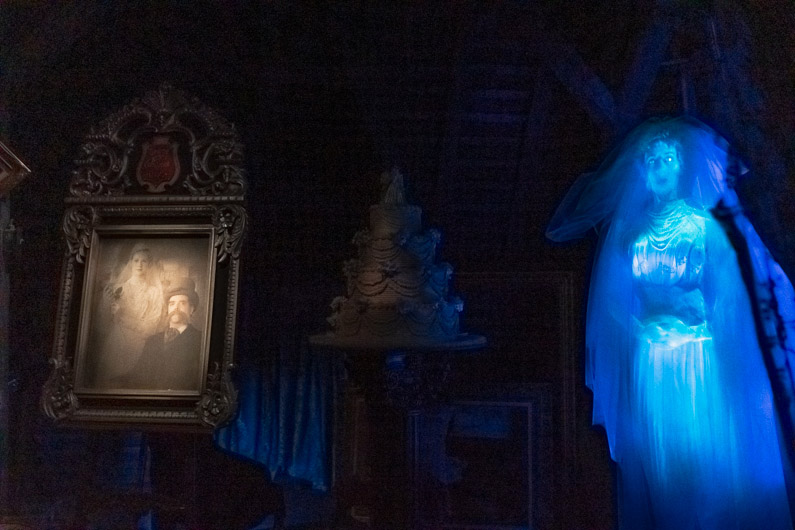 Haunted Mansion Ride Experience