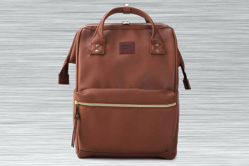 Kah&Kee Leather Mom Backpack for Disney World