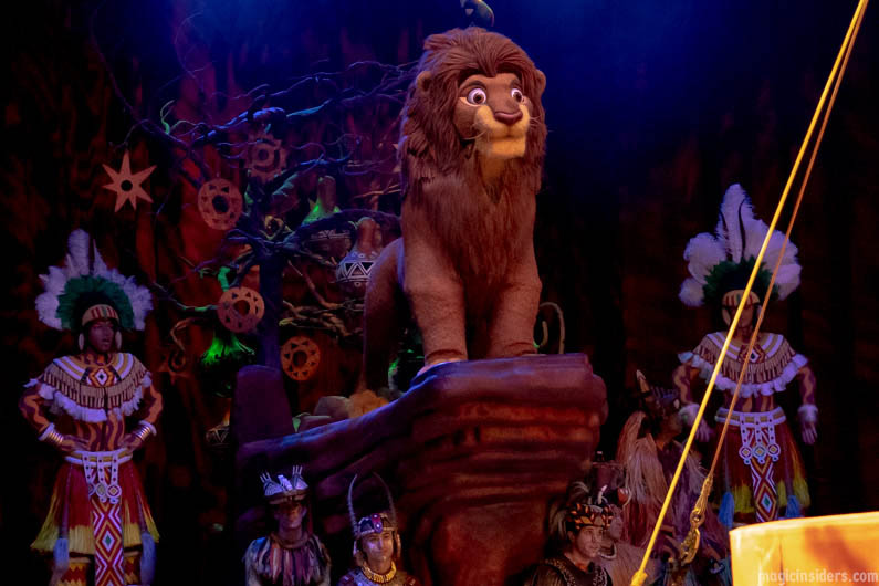 Festival of the Lion King Animal Kingdom