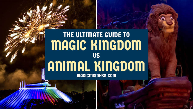 Magic Kingdom vs Animal Kingdom: The Ultimate Comparison