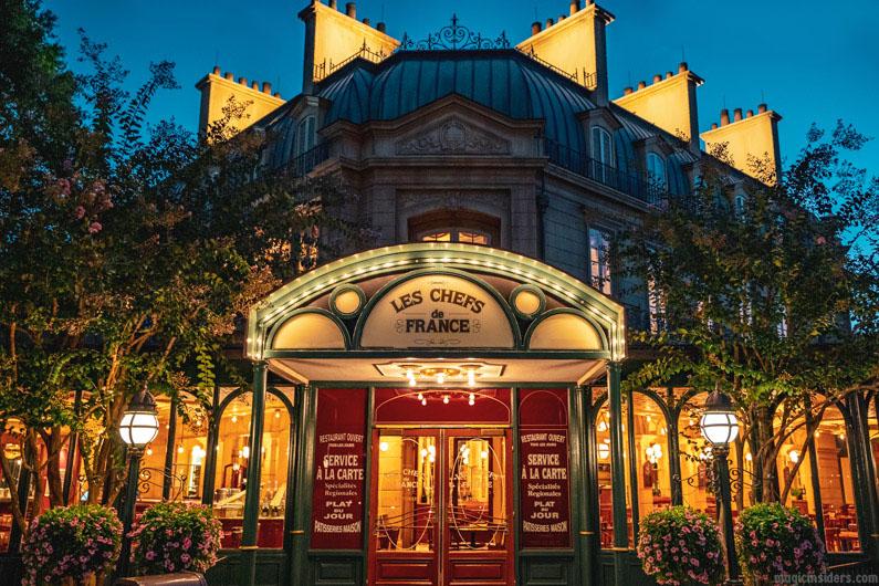 Chefs de France Restaurant Epcot