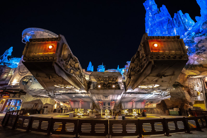 Smugglers Run Millennium Falcon Star Wars Ride