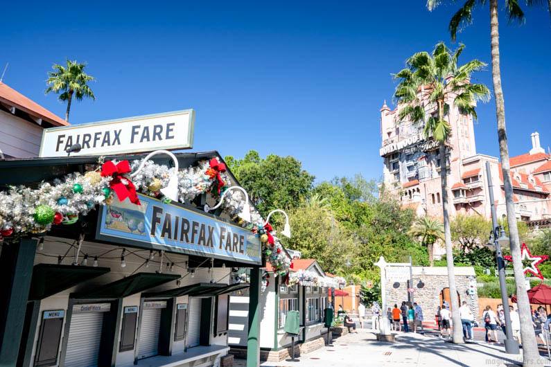 Fairfaxe Fare Hollywood Studios Quick Service